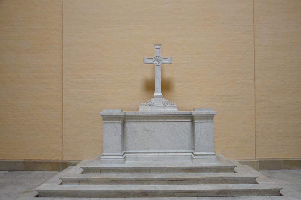 Altar im Endzustand